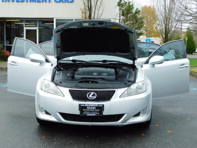 2006 Lexus IS 250 / Leather / Heated seats / Premium Wheels - Photo 31 - Portland, OR 97217