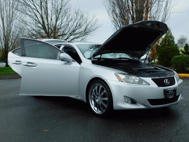 2006 Lexus IS 250 / Leather / Heated seats / Premium Wheels - Photo 30 - Portland, OR 97217