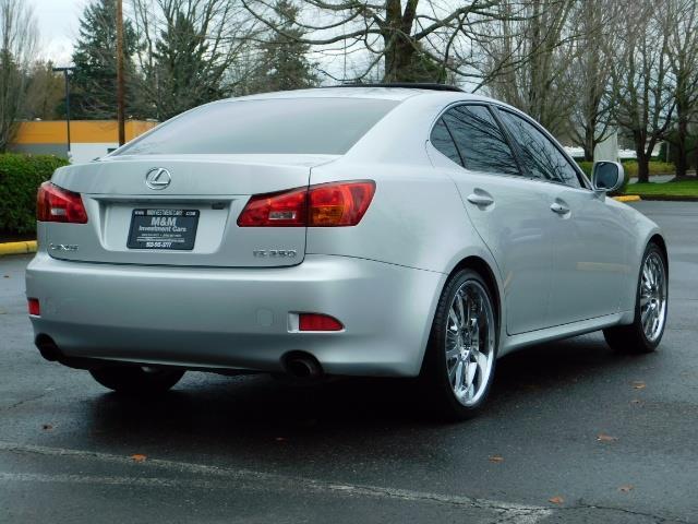 2006 Lexus IS 250 / Leather / Heated seats / Premium Wheels - Photo 8 - Portland, OR 97217