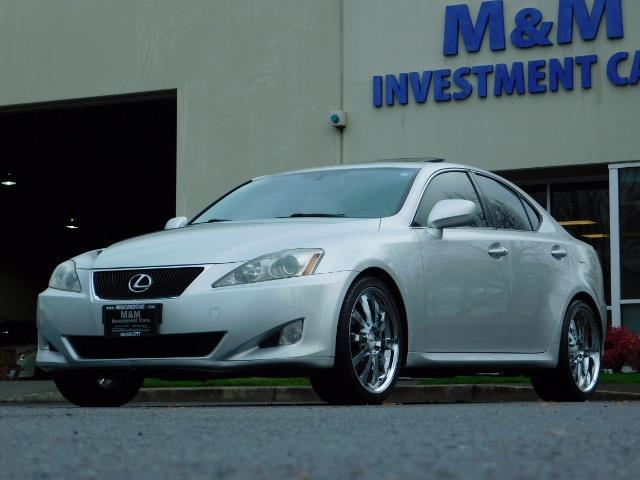 2006 Lexus IS 250 / Leather / Heated seats / Premium Wheels - Photo 41 - Portland, OR 97217