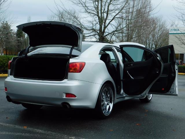 2006 Lexus IS 250 / Leather / Heated seats / Premium Wheels - Photo 29 - Portland, OR 97217