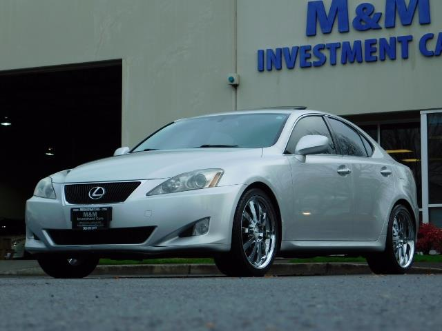 2006 Lexus IS 250 / Leather / Heated seats / Premium Wheels - Photo 42 - Portland, OR 97217