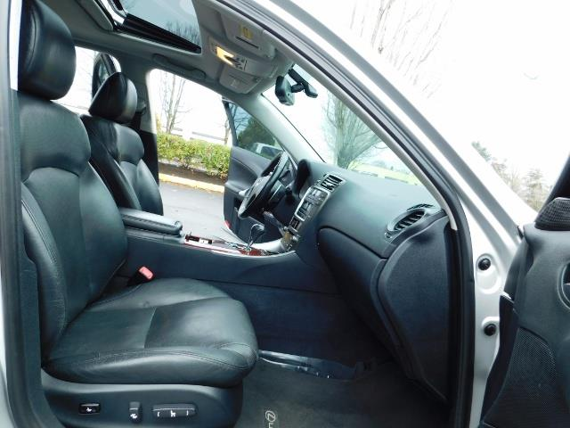 2006 Lexus IS 250 / Leather / Heated seats / Premium Wheels - Photo 17 - Portland, OR 97217