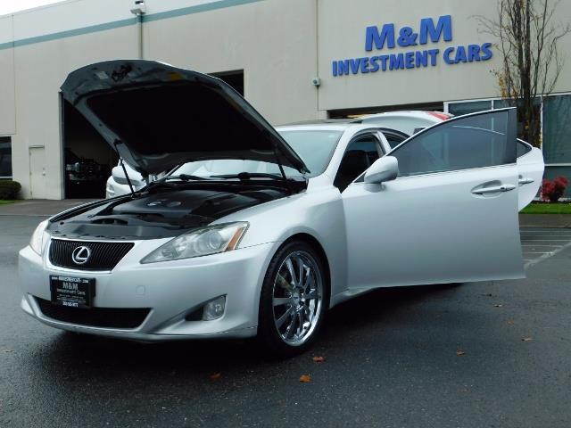 2006 Lexus IS 250 / Leather / Heated seats / Premium Wheels - Photo 25 - Portland, OR 97217