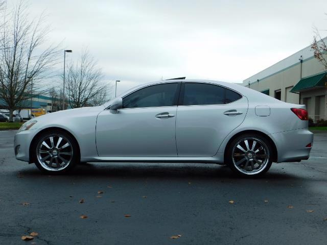 2006 Lexus IS 250 / Leather / Heated seats / Premium Wheels - Photo 3 - Portland, OR 97217
