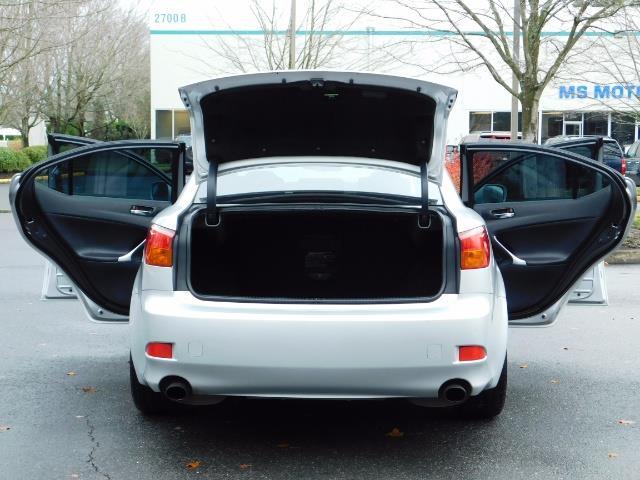 2006 Lexus IS 250 / Leather / Heated seats / Premium Wheels - Photo 28 - Portland, OR 97217