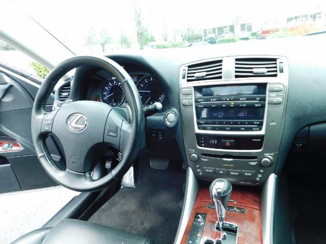 2006 Lexus IS 250 / Leather / Heated seats / Premium Wheels - Photo 18 - Portland, OR 97217