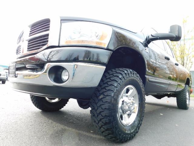 2006 Dodge Ram 3500 SLT / 4X4 / 5.9L CUMMINS DIESEL / 6-SPEED MANUAL - Photo 9 - Portland, OR 97217