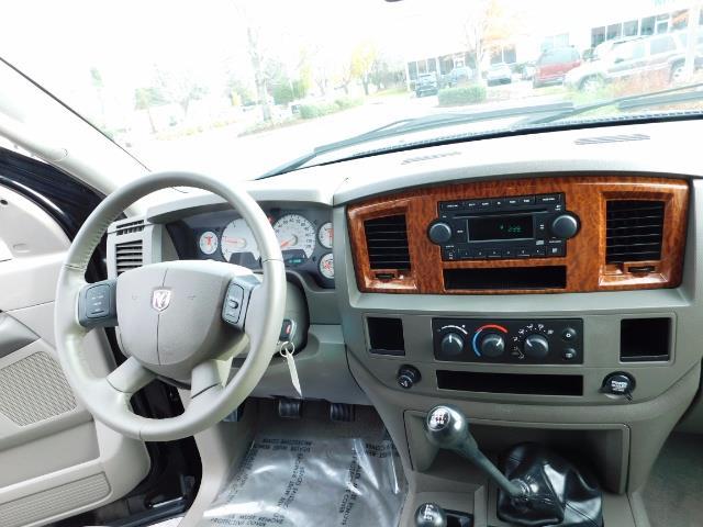 2006 Dodge Ram 3500 SLT / 4X4 / 5.9L CUMMINS DIESEL / 6-SPEED MANUAL - Photo 17 - Portland, OR 97217