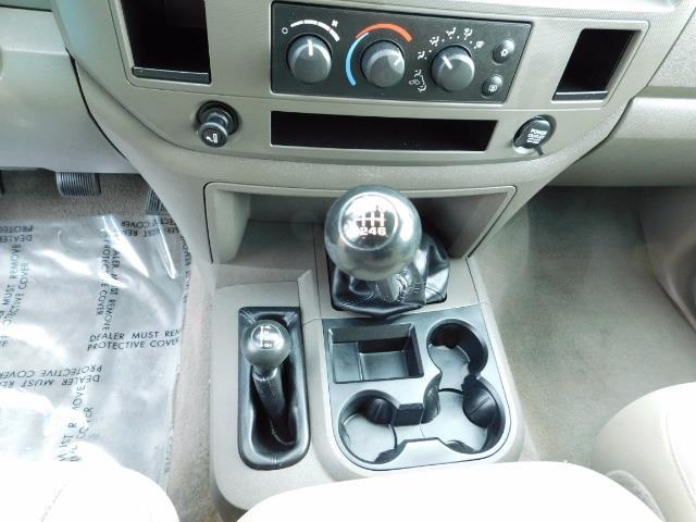 2006 Dodge Ram 3500 SLT / 4X4 / 5.9L CUMMINS DIESEL / 6-SPEED MANUAL - Photo 18 - Portland, OR 97217