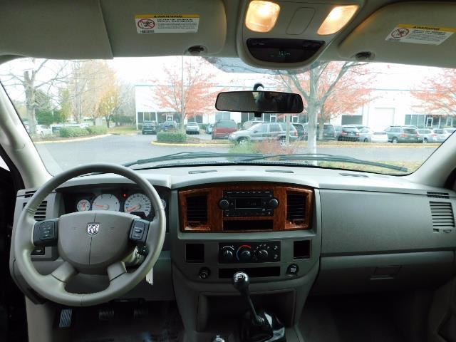 2006 Dodge Ram 3500 SLT / 4X4 / 5.9L CUMMINS DIESEL / 6-SPEED MANUAL - Photo 30 - Portland, OR 97217
