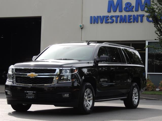 2016 Chevrolet Suburban Lt 1500 4x4 Leather Sunroof 8 Penger