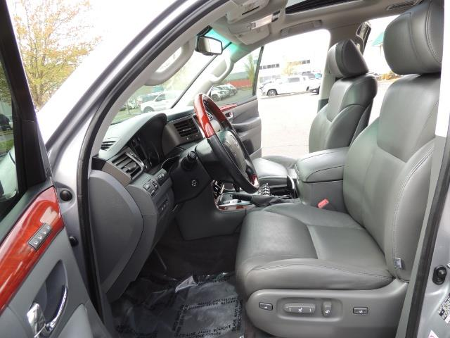 2010 Lexus LX 570 / AWD / Navi / Backup / Third Seat / 1-OWNER - Photo 13 - Portland, OR 97217