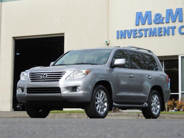 2010 Lexus LX 570 / AWD / Navi / Backup / Third Seat / 1-OWNER - Photo 50 - Portland, OR 97217
