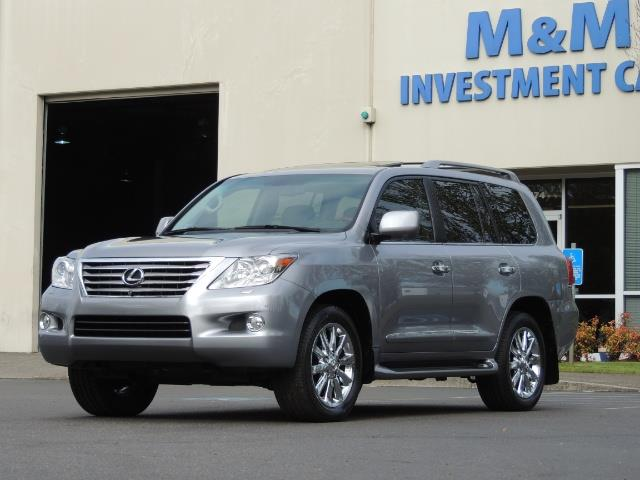 2010 Lexus LX 570 / AWD / Navi / Backup / Third Seat / 1-OWNER - Photo 49 - Portland, OR 97217