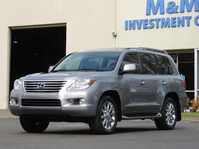 2010 Lexus LX 570 / AWD / Navi / Backup / Third Seat / 1-OWNER - Photo 48 - Portland, OR 97217