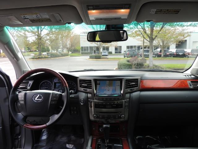2010 Lexus LX 570 / AWD / Navi / Backup / Third Seat / 1-OWNER - Photo 35 - Portland, OR 97217