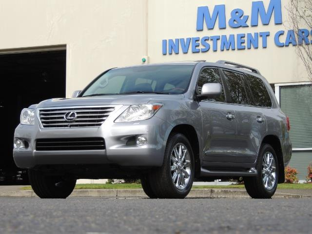 2010 Lexus LX 570 / AWD / Navi / Backup / Third Seat / 1-OWNER - Photo 51 - Portland, OR 97217
