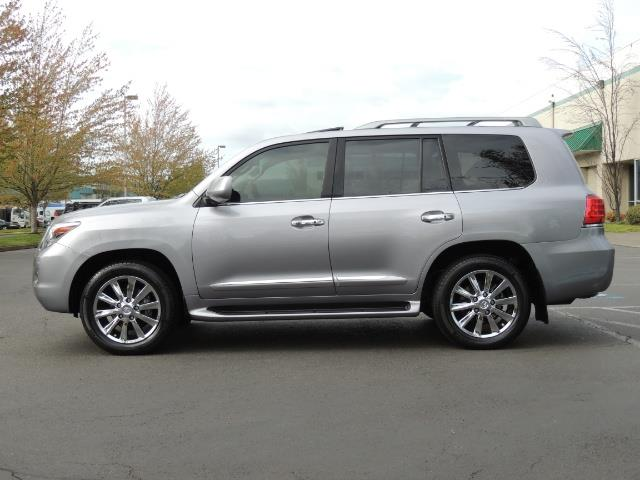 2010 Lexus LX 570 / AWD / Navi / Backup / Third Seat / 1-OWNER - Photo 3 - Portland, OR 97217