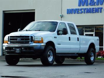 2001 Ford F-350 Super Duty Lariat / 4X4 / 7.3L DIESEL / LIFTED Truck