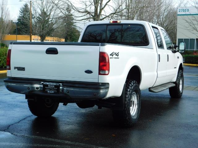 2001 Ford F-350 Super Duty Lariat / 4X4 / 7.3L DIESEL / LIFTED - Photo 8 - Portland, OR 97217