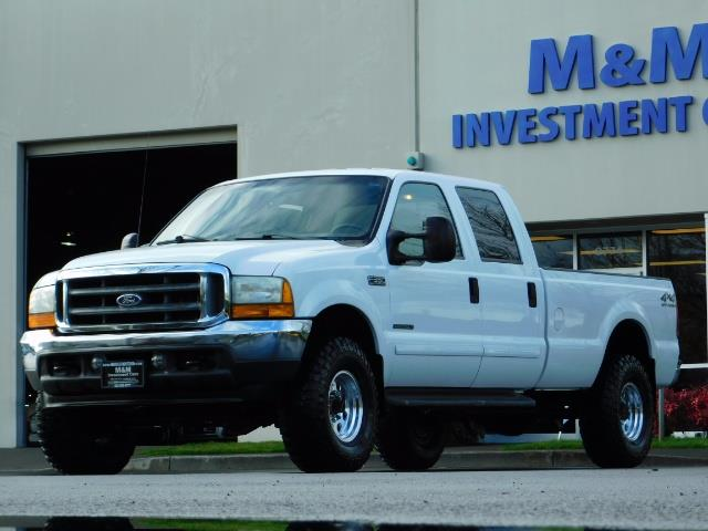 2001 Ford F-350 Super Duty Lariat / 4X4 / 7.3L DIESEL / LIFTED - Photo 43 - Portland, OR 97217