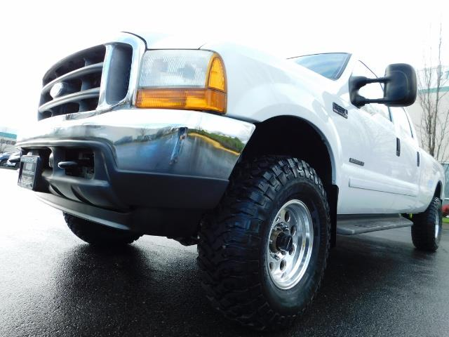 2001 Ford F-350 Super Duty Lariat / 4X4 / 7.3L DIESEL / LIFTED - Photo 9 - Portland, OR 97217