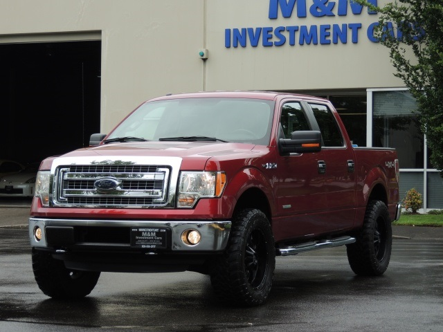 2013 Ford F 150 Xlt 4x4 Crew Cab Eco Boost Lifted Lifted