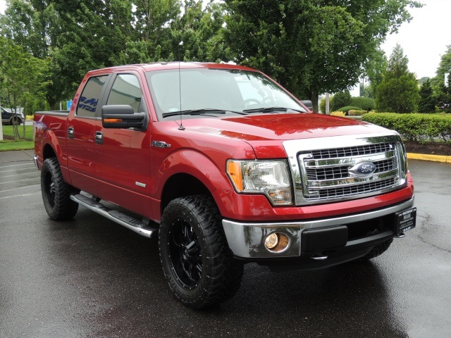 2013 ford f 150 xlt 4x4 crew cab eco boost lifted lifted. Black Bedroom Furniture Sets. Home Design Ideas