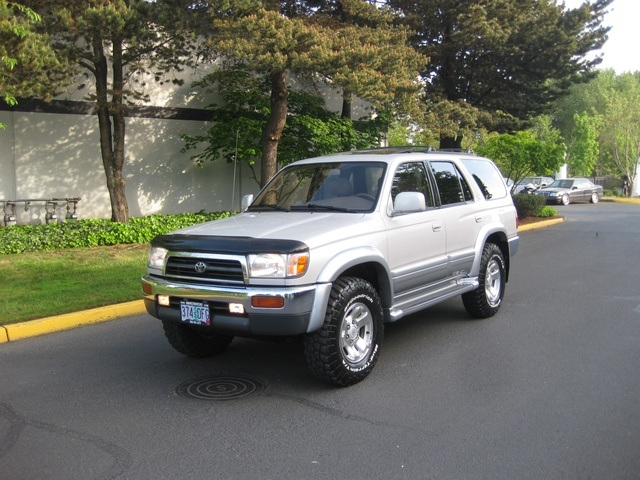 1998 toyota 4runner limited v6 4x4 leather diff locks. Black Bedroom Furniture Sets. Home Design Ideas