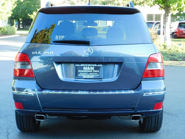 2011 Mercedes-Benz GLK GLK 350 4MATIC / 4WD / Panoramic Sunroof - Photo 6 - Portland, OR 97217