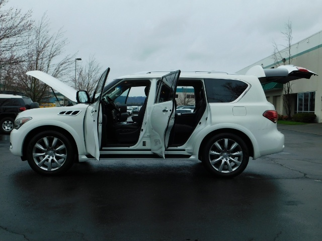 2012 Infiniti QX56 Sport Utility / 4WD / LOADED / 1-OWNER / Excel Con - Photo 26 - Portland, OR 97217
