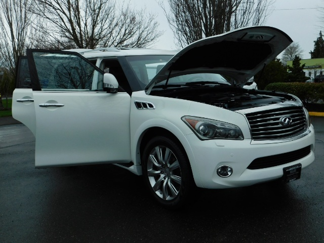 2012 Infiniti QX56 Sport Utility / 4WD / LOADED / 1-OWNER / Excel Con - Photo 32 - Portland, OR 97217