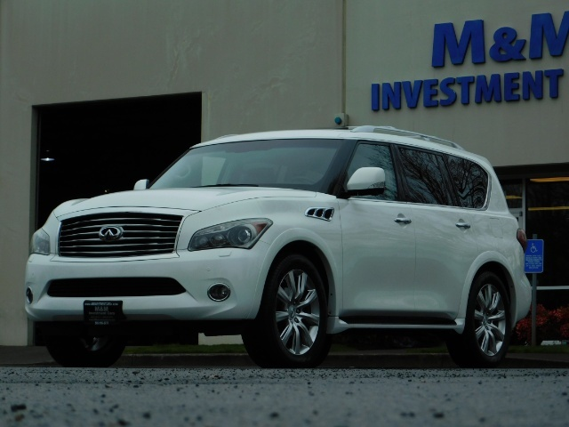 2012 Infiniti QX56 Sport Utility / 4WD / LOADED / 1-OWNER / Excel Con - Photo 54 - Portland, OR 97217
