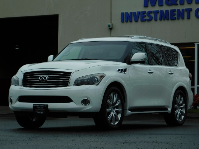 2012 Infiniti QX56 Sport Utility / 4WD / LOADED / 1-OWNER / Excel Con - Photo 59 - Portland, OR 97217