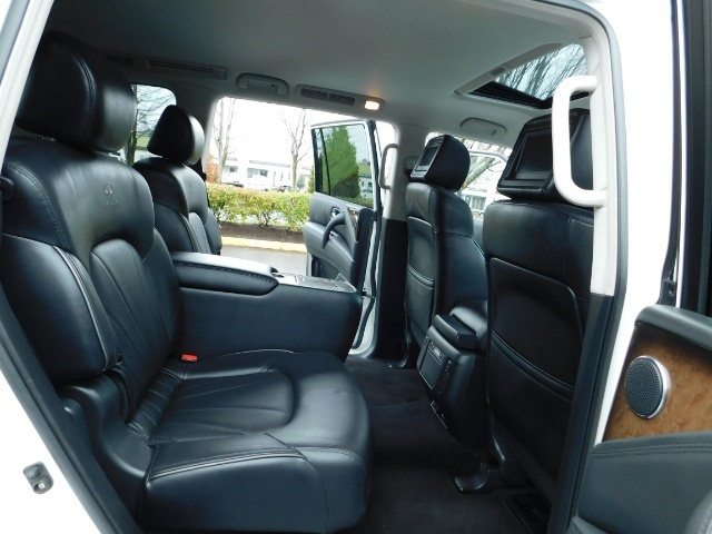 2012 Infiniti QX56 Sport Utility / 4WD / LOADED / 1-OWNER / Excel Con - Photo 17 - Portland, OR 97217