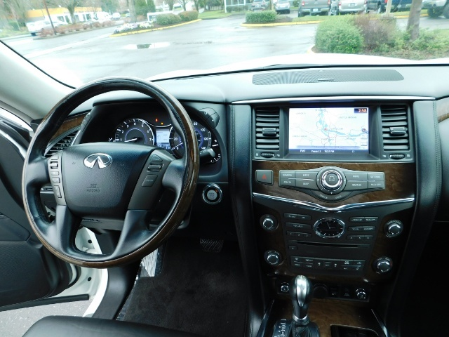2012 Infiniti QX56 Sport Utility / 4WD / LOADED / 1-OWNER / Excel Con - Photo 19 - Portland, OR 97217