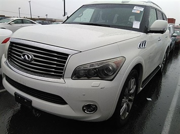 2012 Infiniti QX56 Loaded SUV / 4WD / 1-OWNER / COMING SOON SUV
