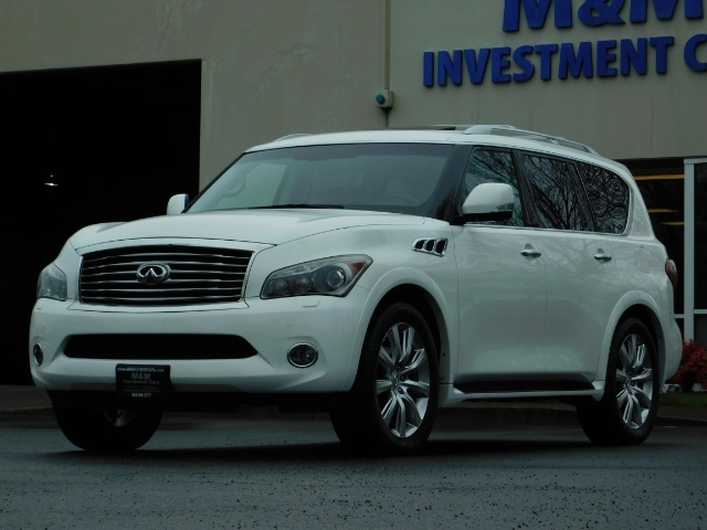 2012 Infiniti QX56 Sport Utility / 4WD / LOADED / 1-OWNER / Excel Con - Photo 57 - Portland, OR 97217
