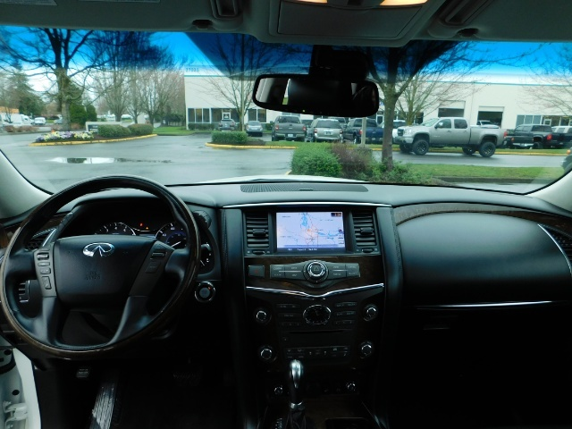 2012 Infiniti QX56 Sport Utility / 4WD / LOADED / 1-OWNER / Excel Con - Photo 37 - Portland, OR 97217