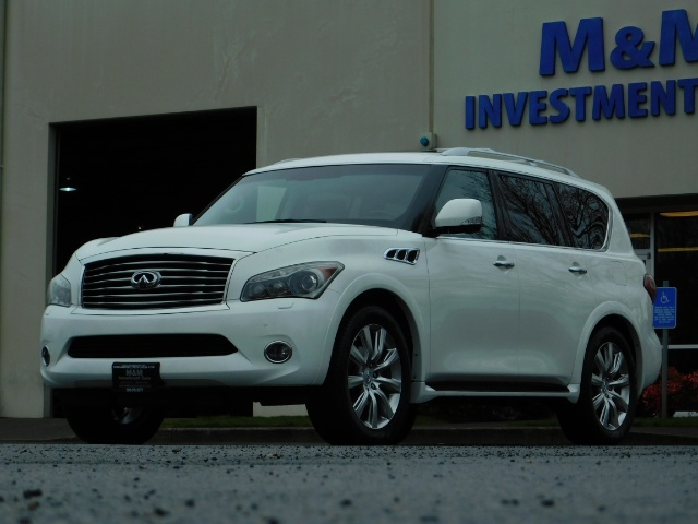 2012 Infiniti QX56 Sport Utility / 4WD / LOADED / 1-OWNER / Excel Con - Photo 55 - Portland, OR 97217