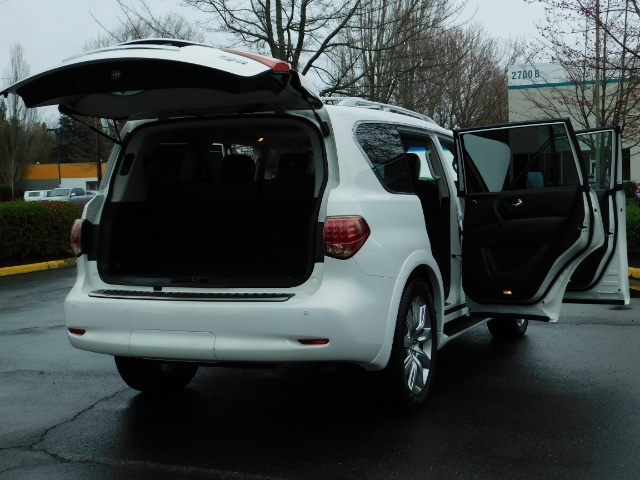 2012 Infiniti QX56 Sport Utility / 4WD / LOADED / 1-OWNER / Excel Con - Photo 30 - Portland, OR 97217