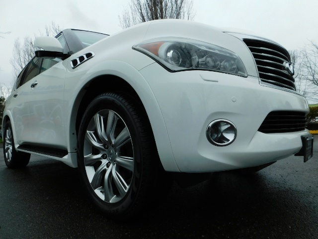 2012 Infiniti QX56 Sport Utility / 4WD / LOADED / 1-OWNER / Excel Con - Photo 10 - Portland, OR 97217