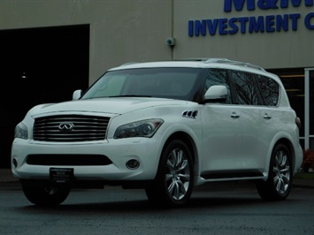 2012 Infiniti QX56 Sport Utility / 4WD / LOADED / 1-OWNER / Excel Con