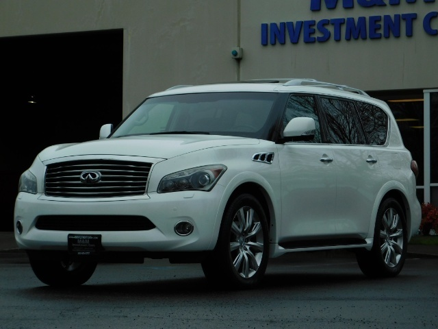 2012 Infiniti QX56 Sport Utility / 4WD / LOADED / 1-OWNER / Excel Con - Photo 56 - Portland, OR 97217