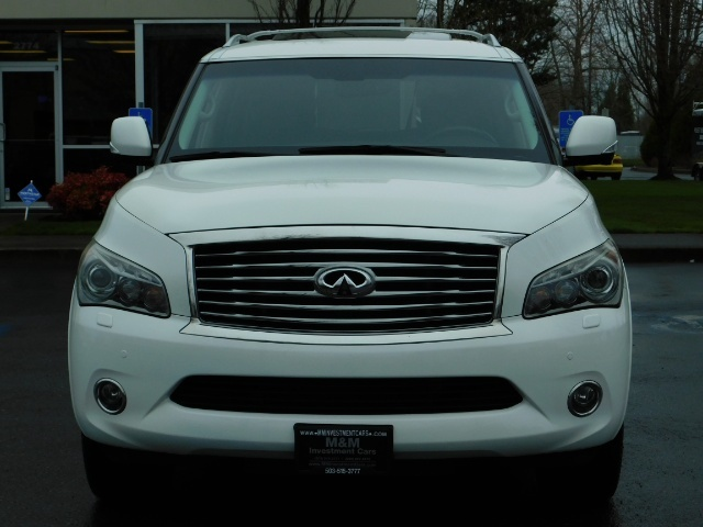 2012 Infiniti QX56 Sport Utility / 4WD / LOADED / 1-OWNER / Excel Con - Photo 5 - Portland, OR 97217