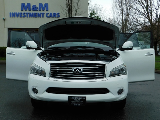 2012 Infiniti QX56 Sport Utility / 4WD / LOADED / 1-OWNER / Excel Con - Photo 33 - Portland, OR 97217