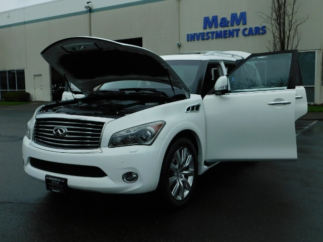 2012 Infiniti QX56 Sport Utility / 4WD / LOADED / 1-OWNER / Excel Con - Photo 25 - Portland, OR 97217