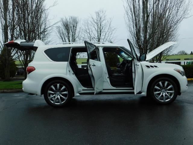 2012 Infiniti QX56 Sport Utility / 4WD / LOADED / 1-OWNER / Excel Con - Photo 31 - Portland, OR 97217