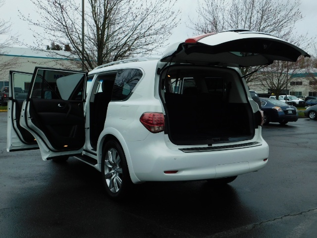 2012 Infiniti QX56 Sport Utility / 4WD / LOADED / 1-OWNER / Excel Con - Photo 27 - Portland, OR 97217